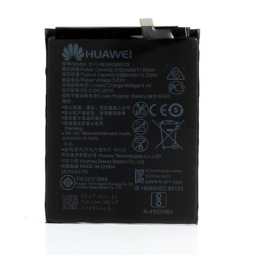 BATTERIA PER HUAWEI ASCEND P10 HONOR 9 HB386280ECW COMPATIBILE