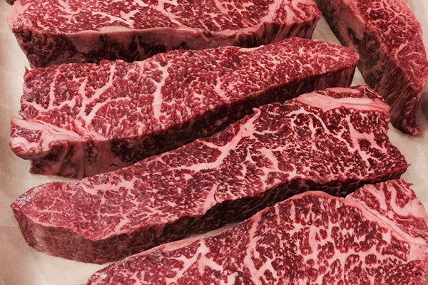 Wagyu NY Strip Steaks