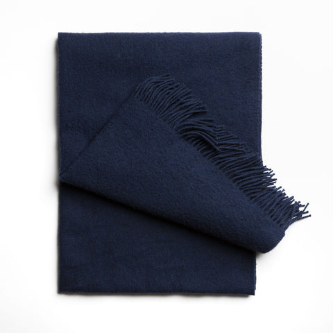 Ecstacy wool scarf Anthracite black