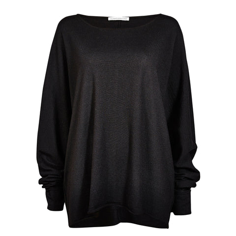 Night vision jumper Anthracite black