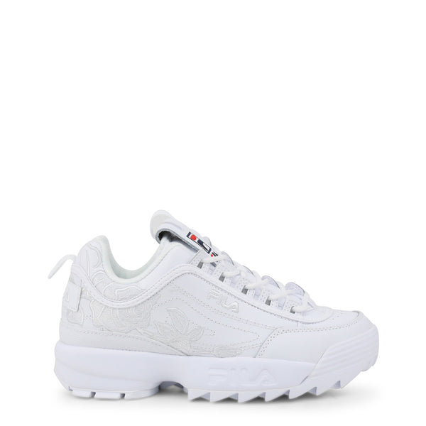 Fila Disruptor II Embroidery White Sneakers