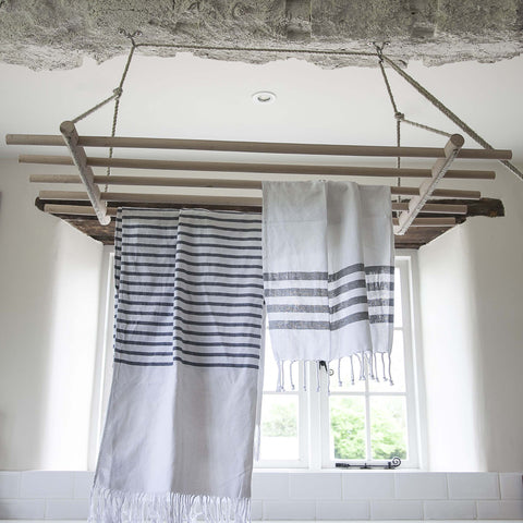 Wooden Ceiling Clothes Dryer