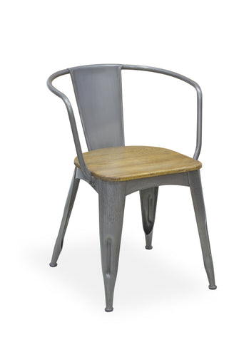 Industrial Navy Chair
