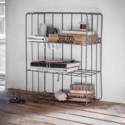 Metal Wall Crate
