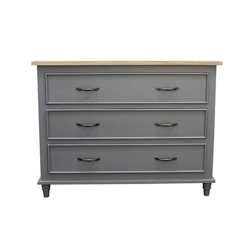Vintage Grey Chest of Drawers