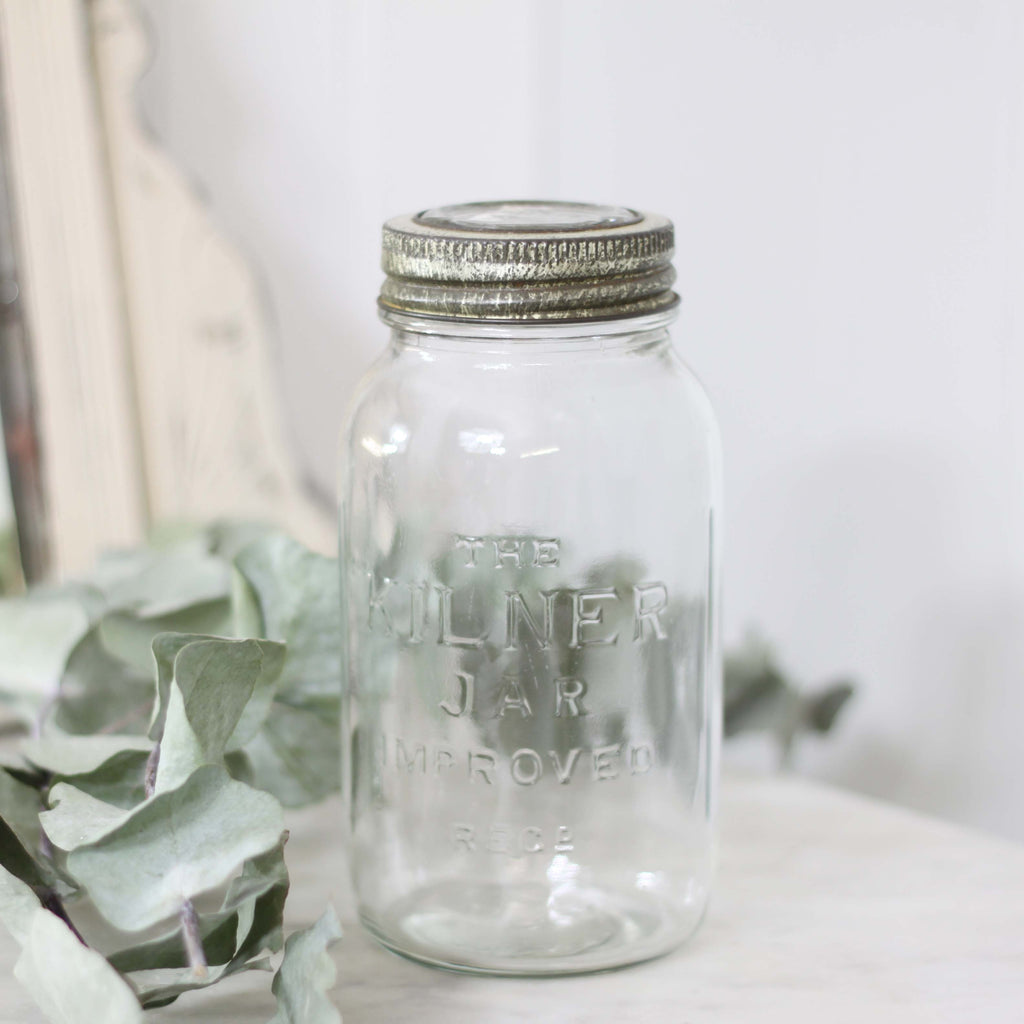 Vintage Glass Kilner Jars
