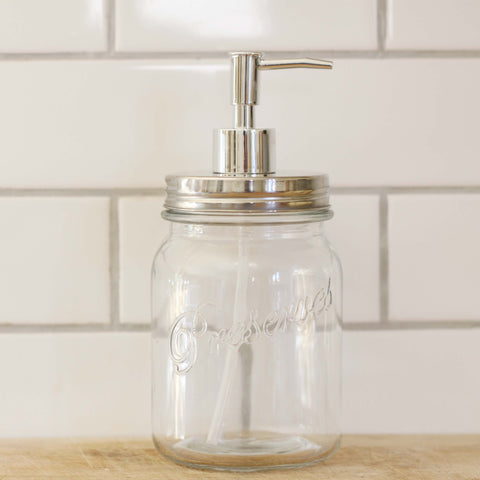 Masons Jar Soap Dispenser