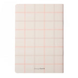 A5 Jotter: Neutral Pink Grid