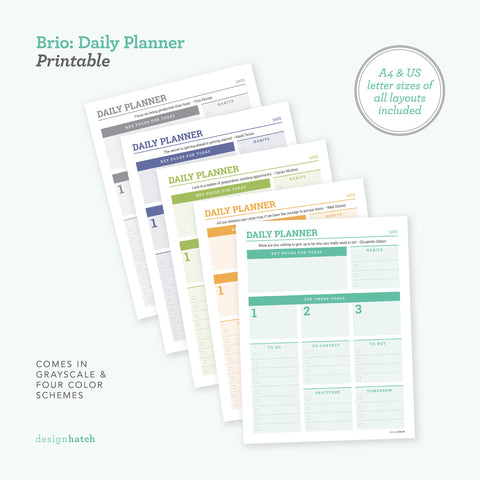 Brio: Daily Planner
