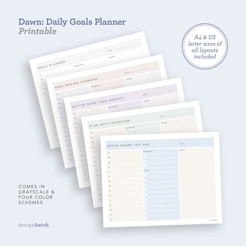 Dawn: Daily Goals Planner