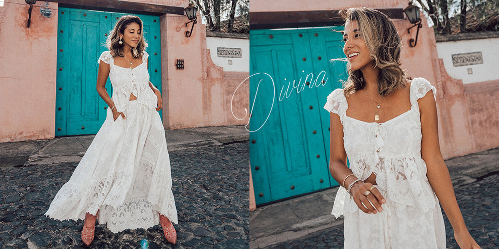 Tulle and Batiste 30% off sales Divina collection