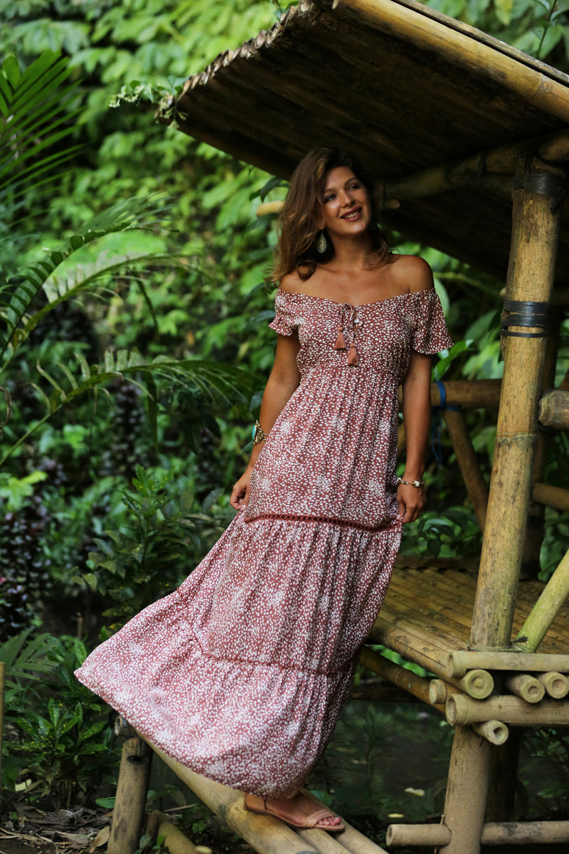 Coco Maxi Dress - Tulle and Batiste