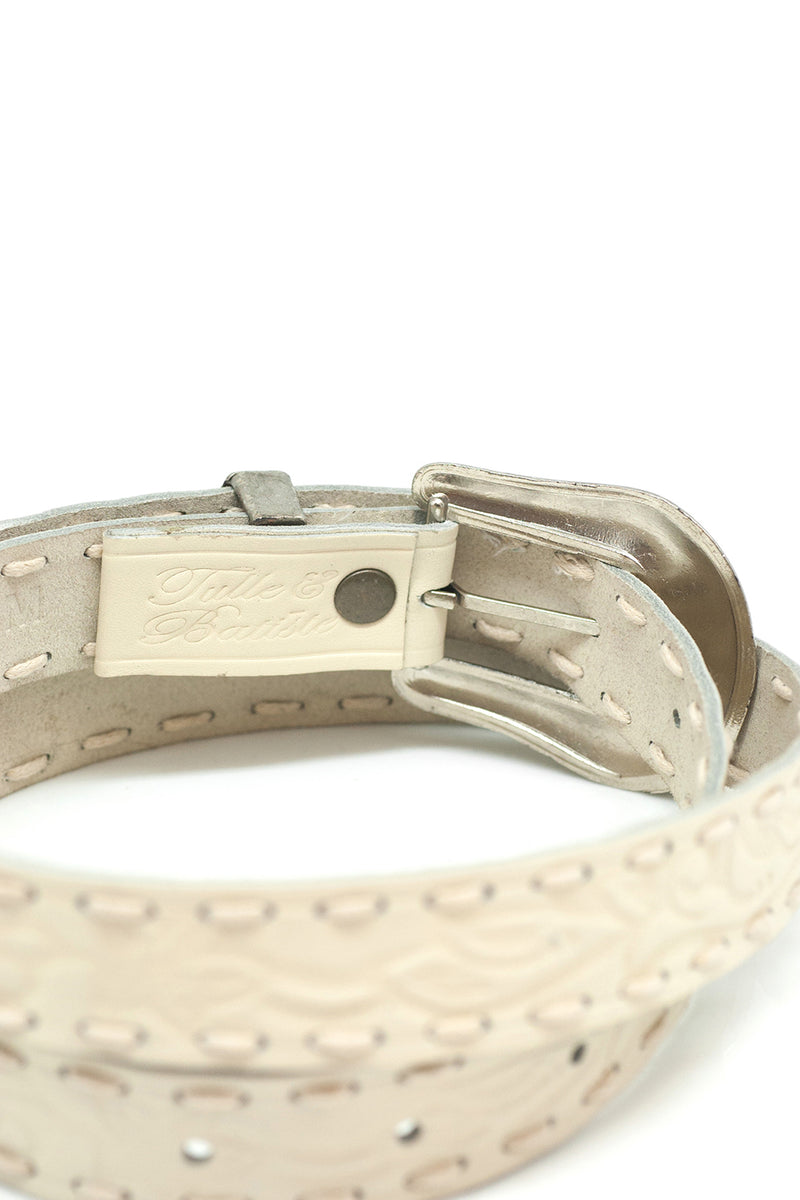 The Gypsy Queen Belt - Classic Cream - Tulle and Batiste