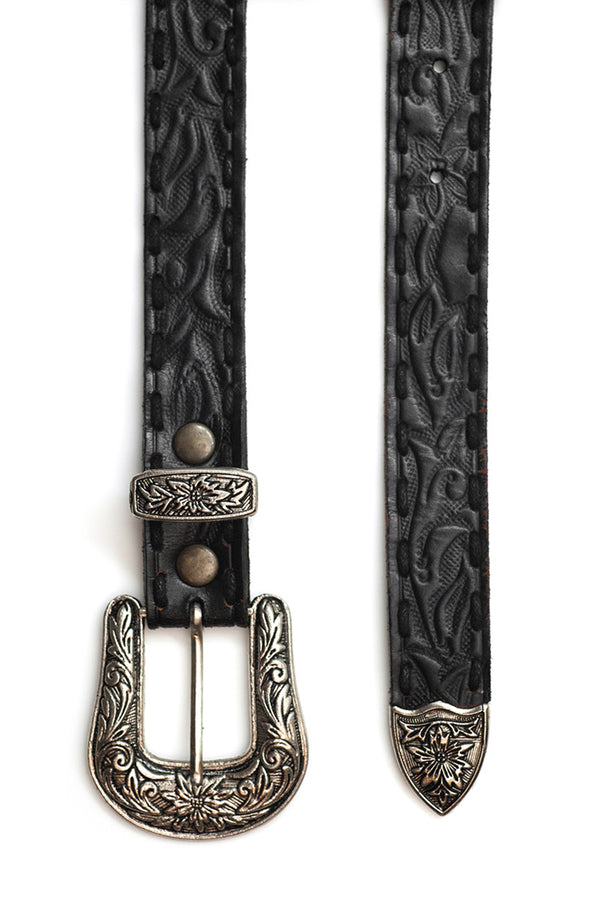 The Gypsy Queen Belt - Vintage Black - Tulle and Batiste