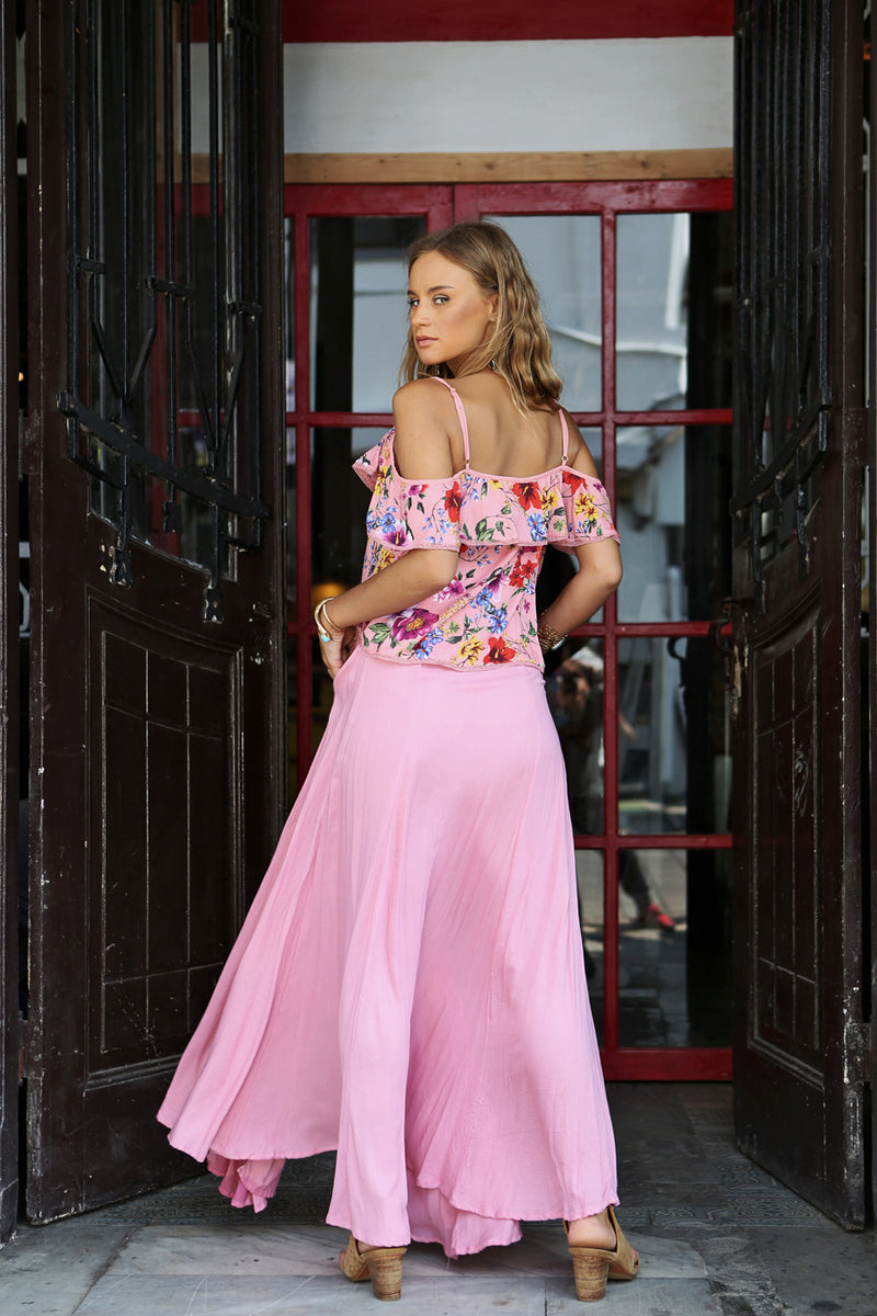 Harmonia Cami Top - Pink Blossom - Tulle and Batiste