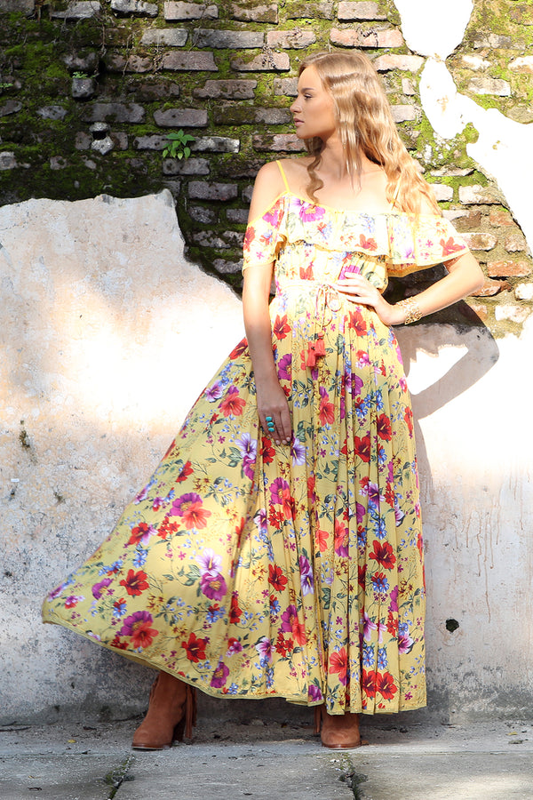 Harmonia Maxi Dress - Dandelion