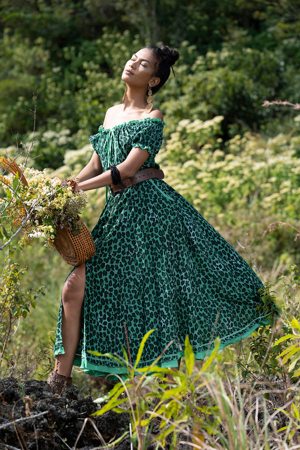 Montana Midi Dress - Tulle and Batiste