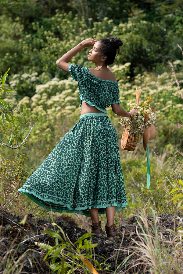 Montana Midi Skirt - Tulle and Batiste