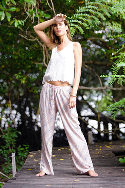 Olivia Pants - Blush - Tulle and Batiste