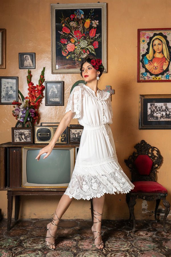 Senorita Playdress - Snow White - Senorita by Tulle and Batiste