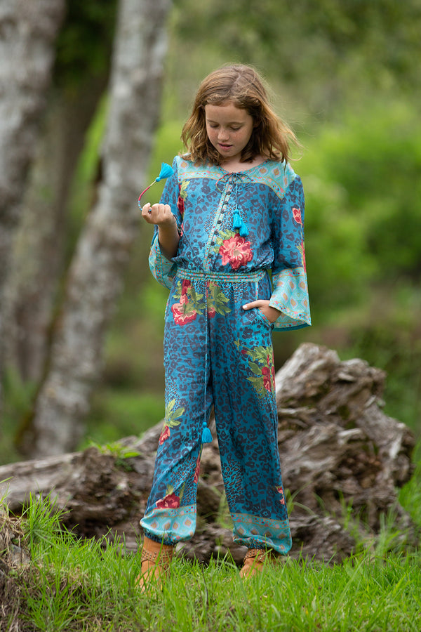 Tabitha Jumpsuit - Blue Moon - Tulle and Batiste