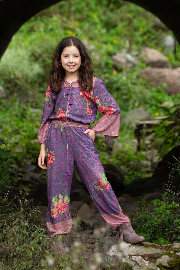 Tabitha Jumpsuit - Purple Potion - Tulle and Batiste