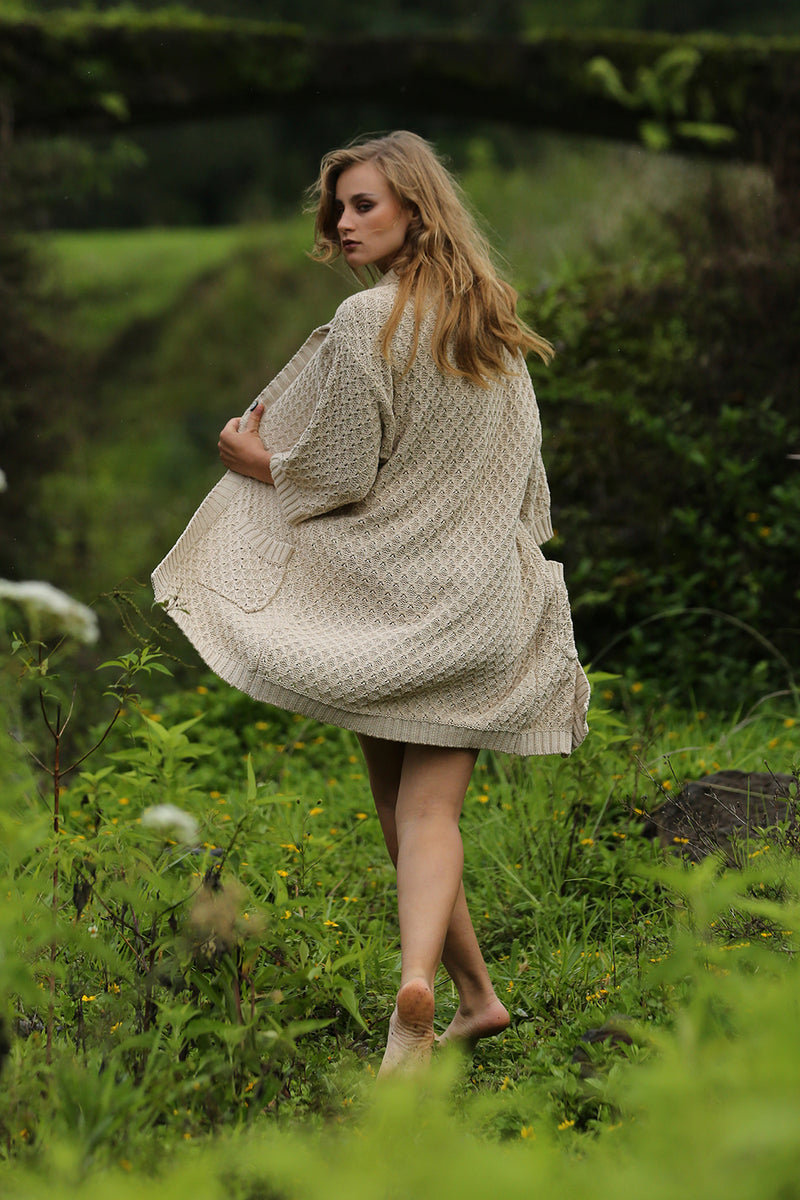 Terra Cardigan - Cream - Tulle and Batiste