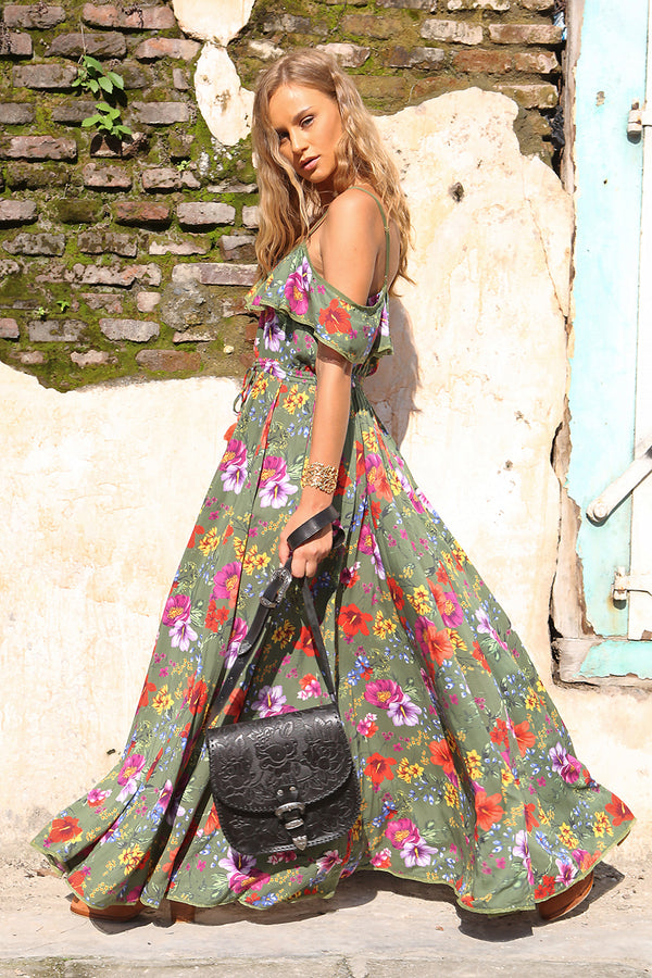 The Gypsy Queen Bag - Vintage Black - Tulle and Batiste