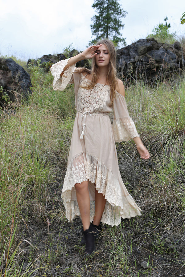 Fairy Love Maxi Dress - Tulle and Batiste