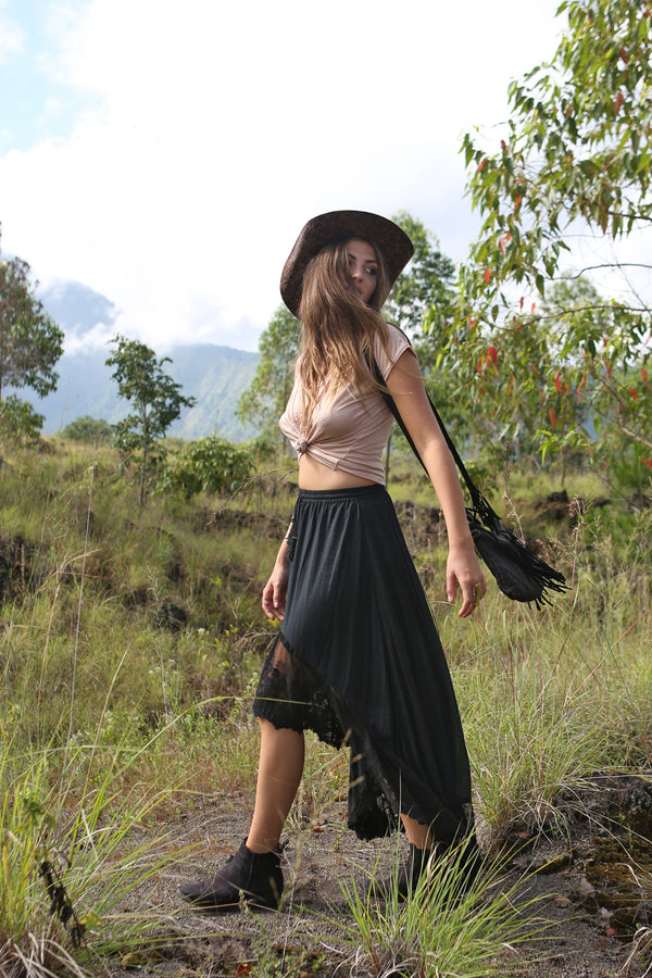Fairy Love Maxi Skirt - Tulle and Batiste