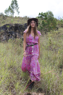 Savannah Maxi Dress - Tulle and Batiste
