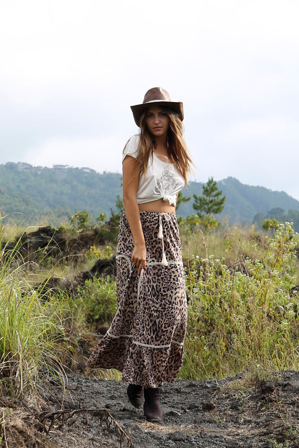 Savannah Maxi Skirt - Tulle and Batiste