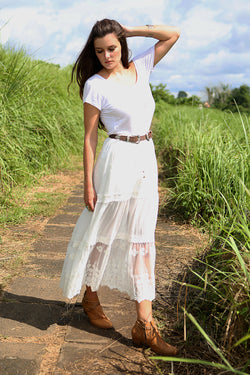Willow Maxi Skirt - Tulle and Batiste