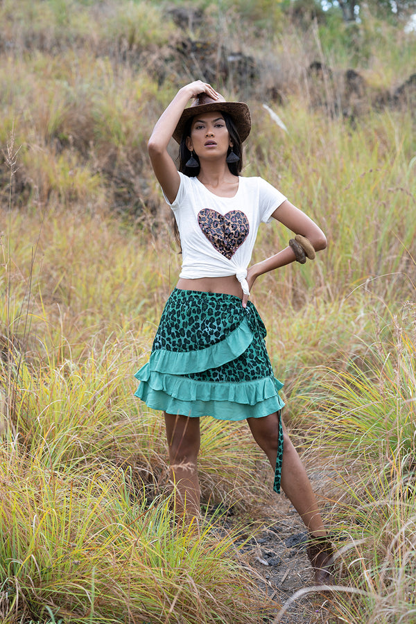 Wild Heart Tee - Tulle and Batiste