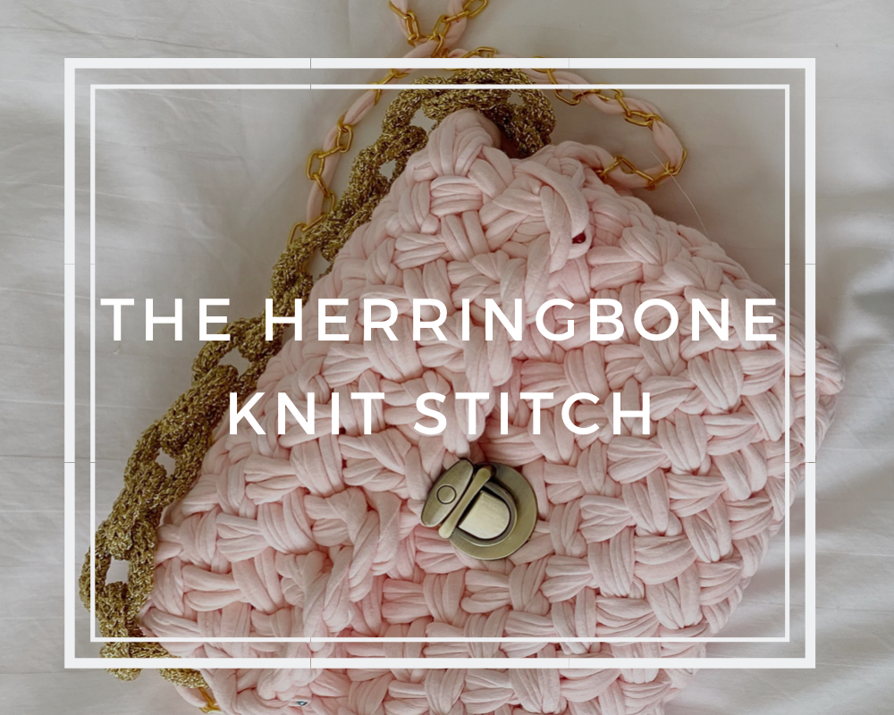 Mode at Rowan & How to Knit The Herringbone Knit Stitch
