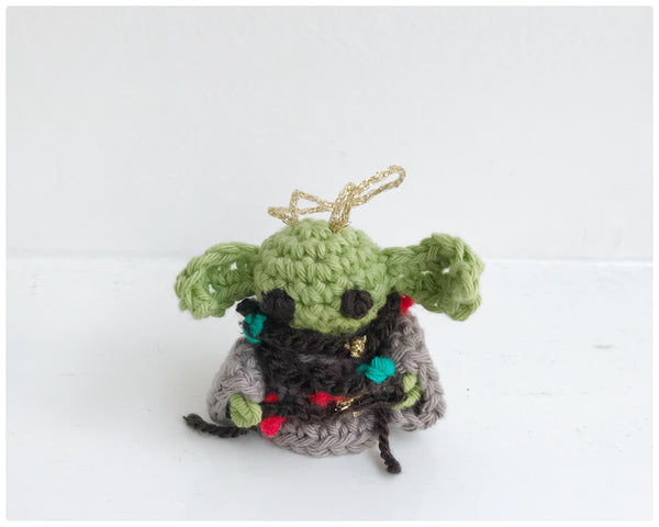 Baby Yoda Christmas decoration