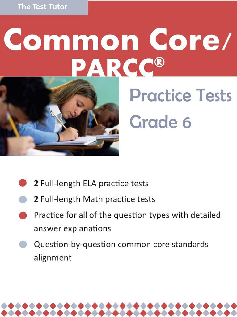 Practice Tests for the PARCC® - Grade 6 (ebook)