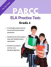 PARCC English/Language Arts Practice Tests - Grade 6