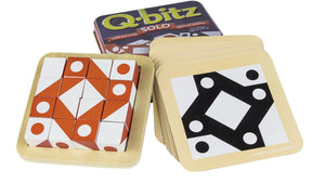 Q-Bitz Solo: Orange Game