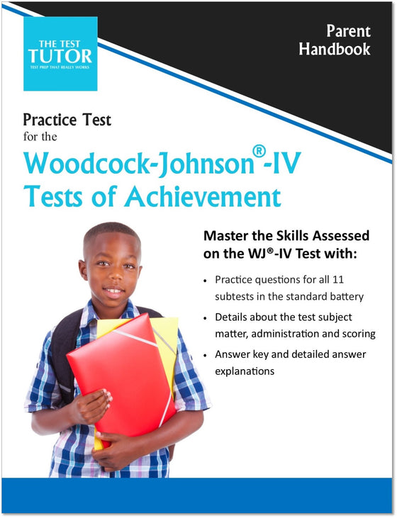 Practice Test for the Woodcock-Johnson® IV Tests of Achievement (ebook)