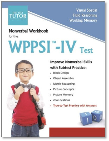 Nonverbal Kit for the WPPSI™-IV