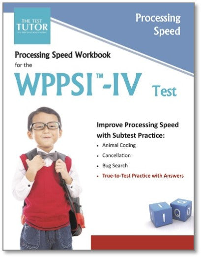 Processing Speed Kit for the WPPSI™-IV