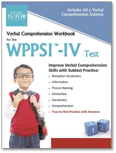 Verbal Comprehension Workbook for the WPPSI™-IV
