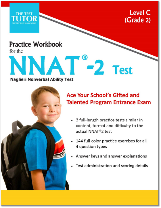 Practice Tests for the NNAT 2 Test - Second Grade (eBook)