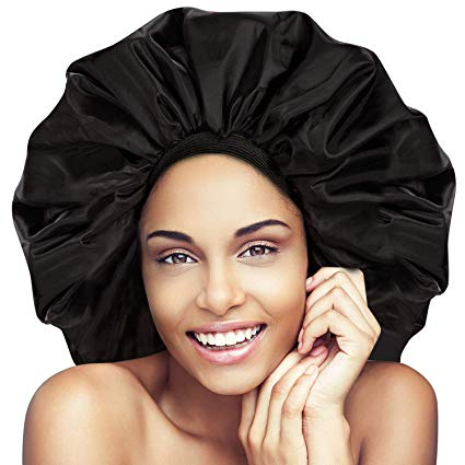 Super-Jumbo Satin Bonnet Night/Sleep Cap