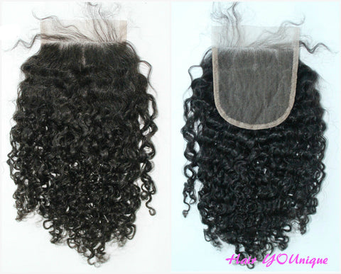 Kinky curly lace closure cheap