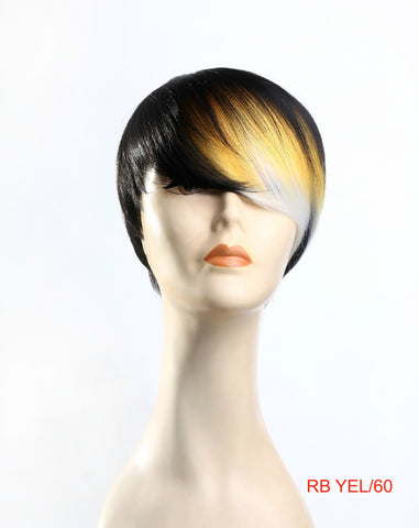 Ombre short layered wig cheap