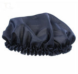 Black hair bonnet cap