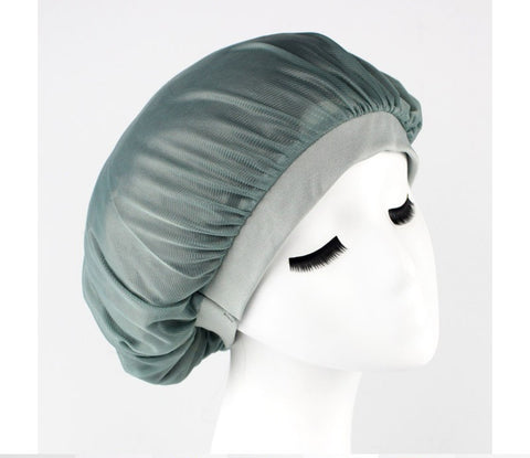 Satin edge stay on hair bonnet cap