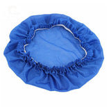 Blue hair bonnet night sleep cap